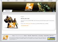 2K Czech Webseite